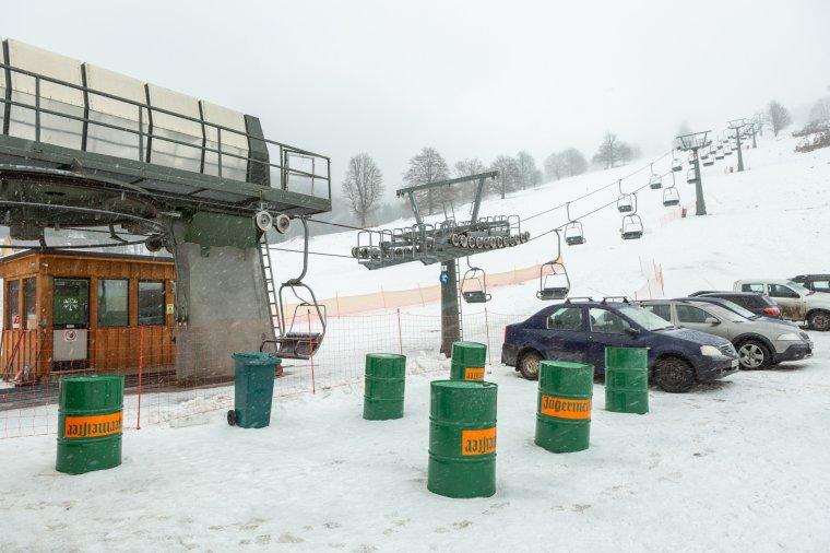 A turizmus fejlődését szolgálja a Hargita-hegység első ülőliftes sípályája