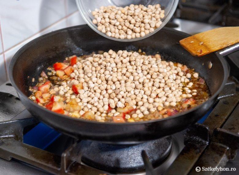 A vegetáriánusokra is gondol a Főnix Konyha séfje