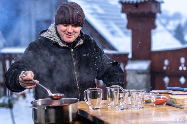 Meleg étel és melengető ital a tél derekán