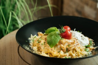 Nagyszerű kombináció: sajt és spagetti