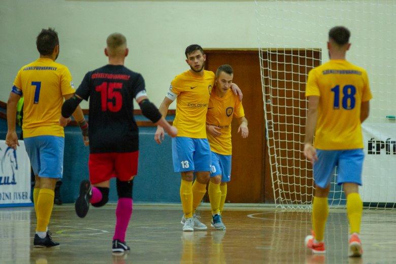 Simán jutott tovább a nyolc közé a Futsal Klub Székelyudvarhely