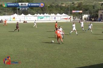 Itt nézheti élőben a Székelyföld–Dél-Oszétia mérkőzést