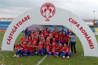 Fülig érő szájjal: trófea a magasban – Román Kupa-győztes a Székelyudvarhelyi Vasas Femina
