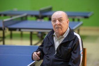 Ötven év az asztalitenisz kötelékében – Interjú Nagy Ferenc edzővel