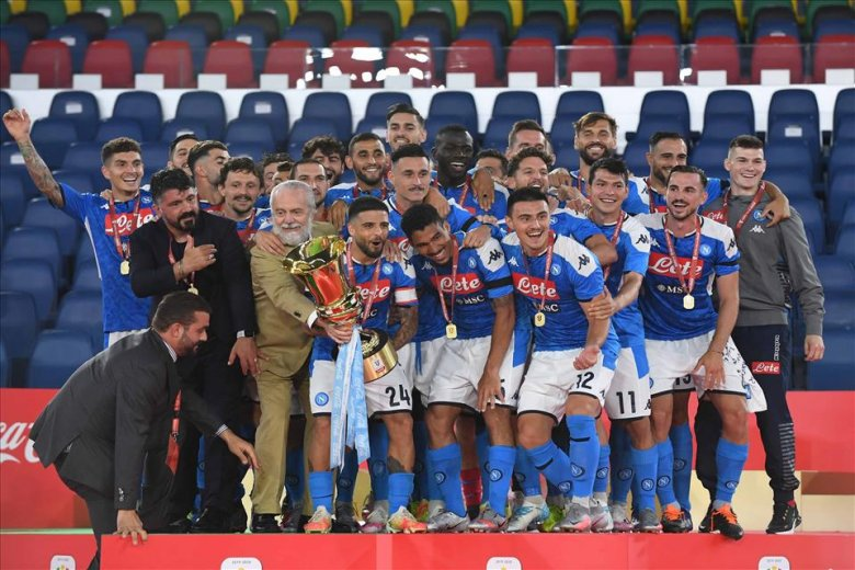A Napoli hatodik Olasz Kupája, Gattuso első trófeája