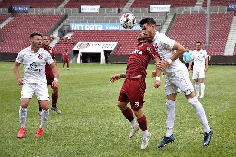 Megnyerte hazai edzőmérkőzését a Kolozsvári CFR