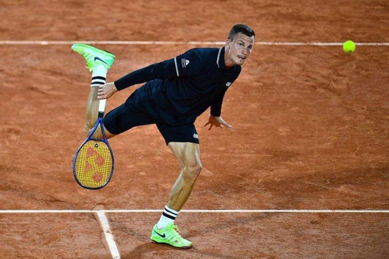 Fucsovics komolyan megszorongatta Thiemet a római tenisztornán