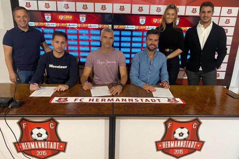 Spanyol edzői trió a nagyszebeni labdarúgócsapatnál