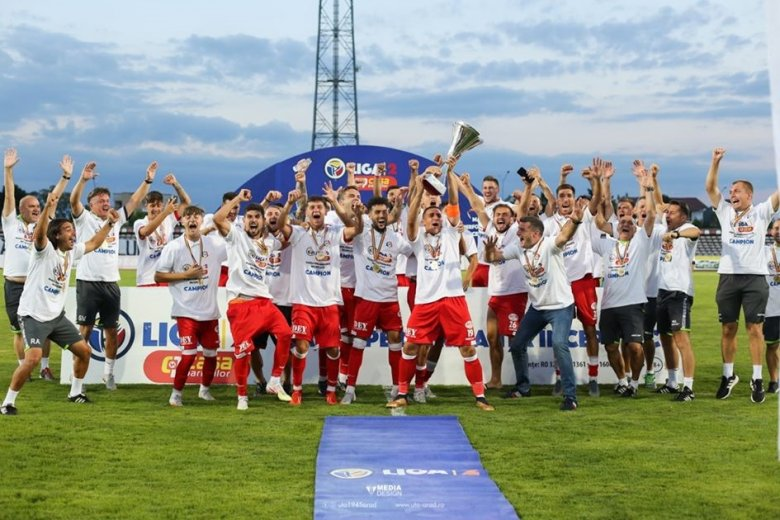 Az UTA és az FC Argeș jutott fel az 1. Ligába