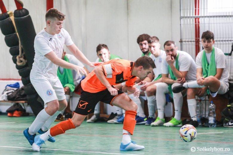A székely csoportot a KSE Futsal vezeti