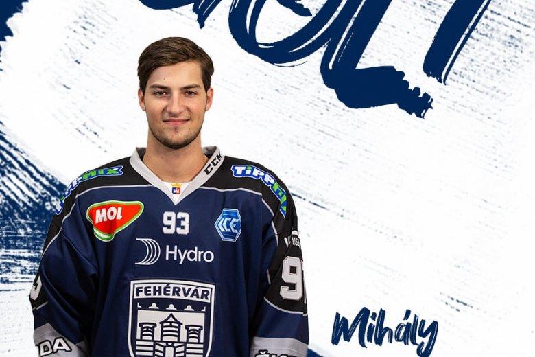 Mihály Ákos a hónap legjobb fiatalja az osztrák hokiligában