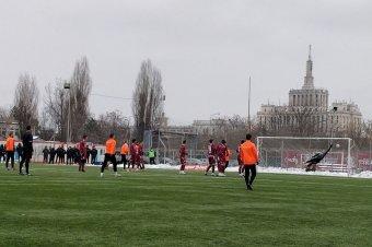 A Rapid–SZFC felkészülési mérkőzés gólösszefoglalója