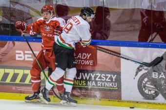 A legvégén jött a lengyel gól, kikapott a magyar hokiválogatott