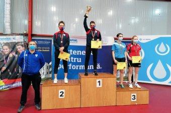 Szőcs Bernadette kétszeres bajnok lett Buzăuban