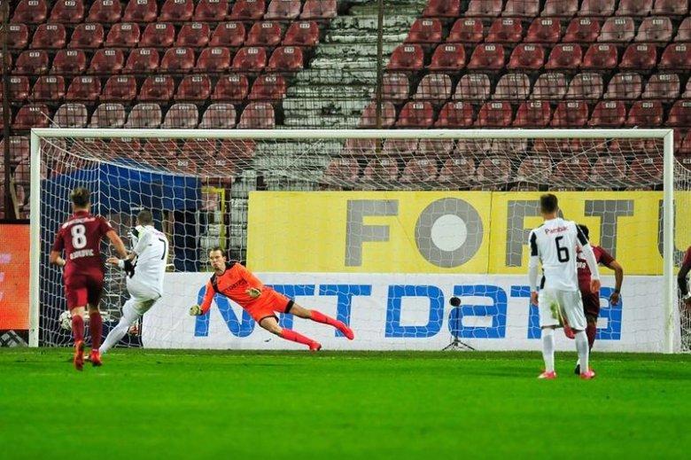 Bekerült a Kolozsvári CFR kapusa az Európa Liga álomcsapatába