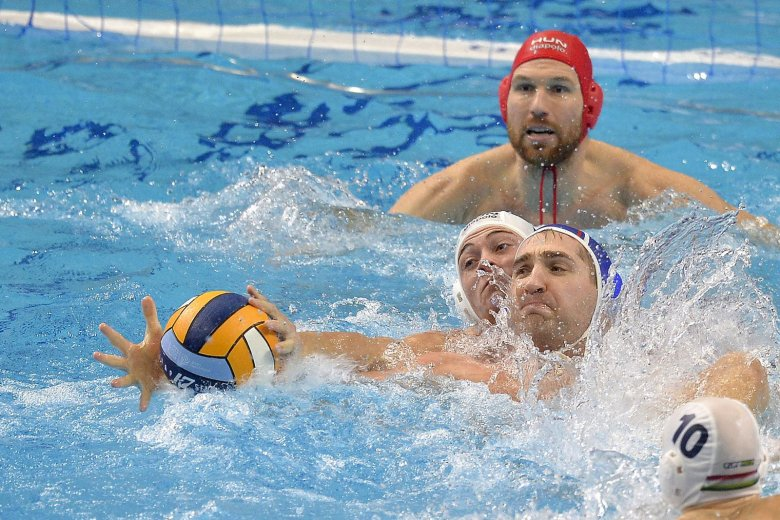 Vízilabda-Eb: a magyar férfi csapat is elődöntős