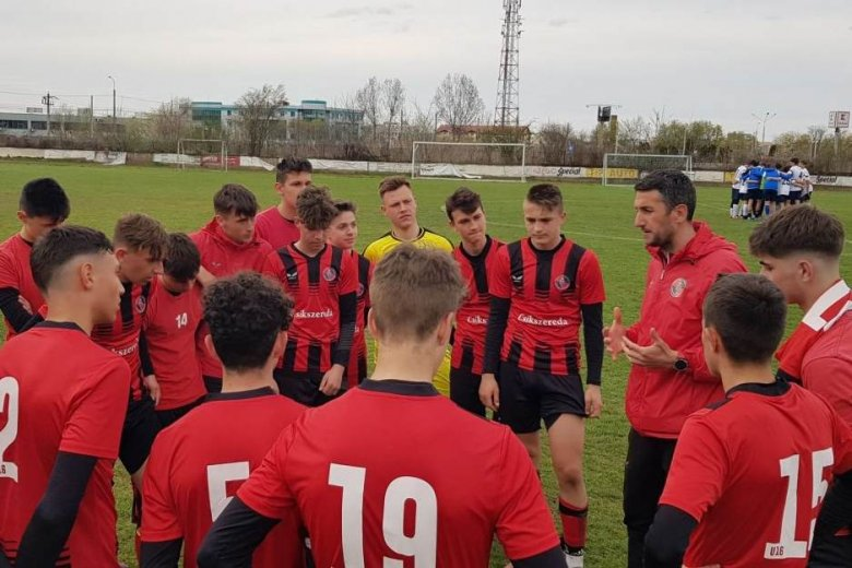 Veretlen maradt az FK Csíkszereda U16-os csapata