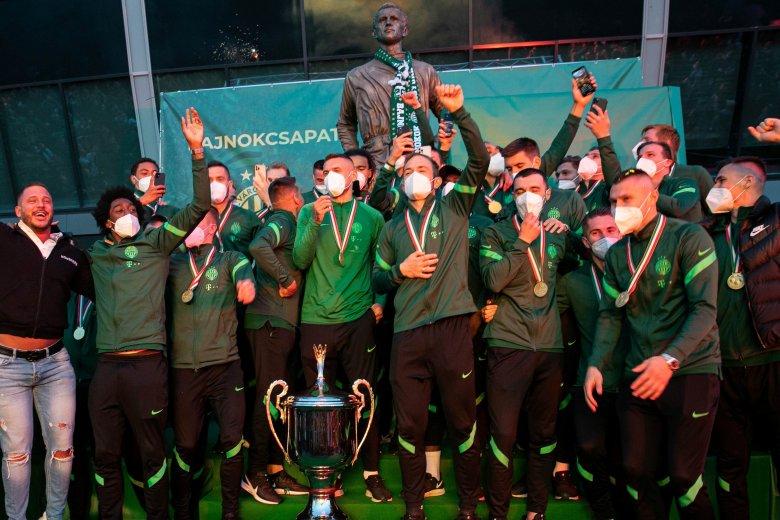 Pontrekordot állított fel a bajnok Ferencváros