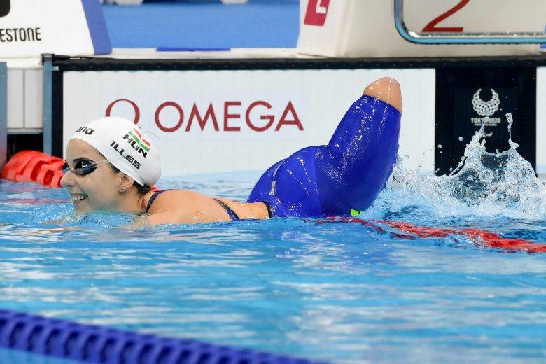 Paralimpia 2020: Illés Fanni úszásban, Pálos Péter asztaliteniszben nyert aranyérmet