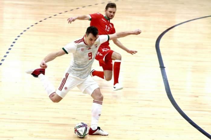Futsal Eb-selejtező: legyőzte a fehéroroszokat a magyar válogatott