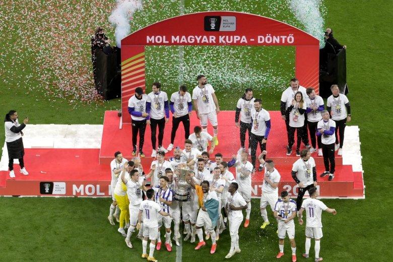 Magyar Kupa-győztes az Újpest labdarúgócsapata