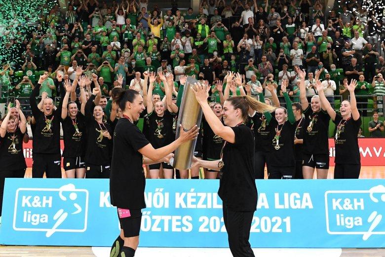 Hat év után ismét a Ferencváros nyerte a női kézilabda NB I-et