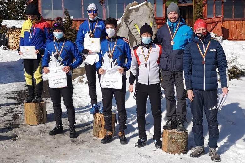 Simion Suciu országos bajnok, bronzérmes a VSK Csíkszereda váltója