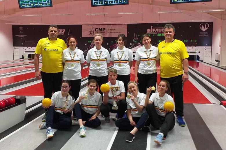 Fiatal csapattal nyerték meg a bajnoki címet a vásárhelyi tekézők