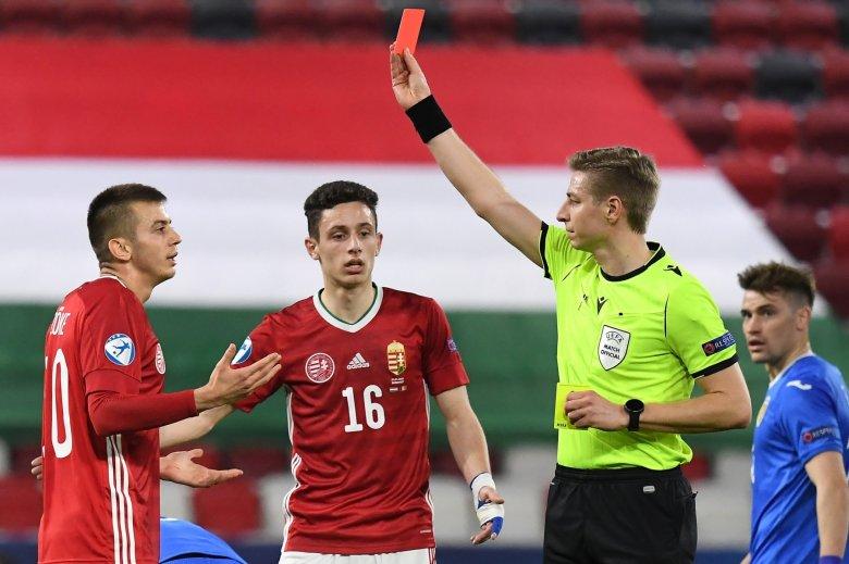 Magyar piros, román fordítás az U21-es foci-Eb presztízsmeccsén