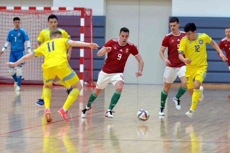 Kazahsztán esélyt sem adott a magyar futsalválogatottnak
