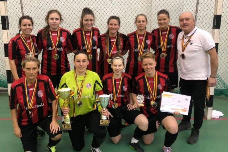 Kupát nyert az FK Csíkszereda lánycsapata, a BL-ben indulhat