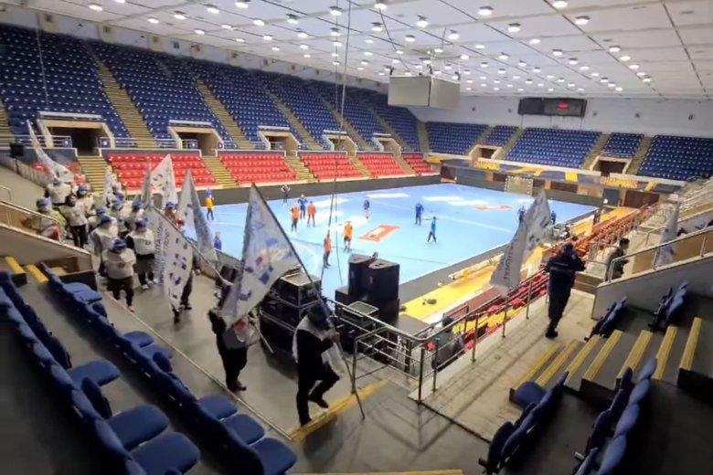 A sportcsarnok alkalmazottainak sztrájkja szakította félbe a válogatott edzését