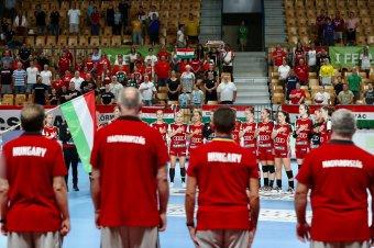 Nem volt ellenfelük, a magyar női U19-es kézilabda-válogatott megvédte az Európa-bajnoki címét