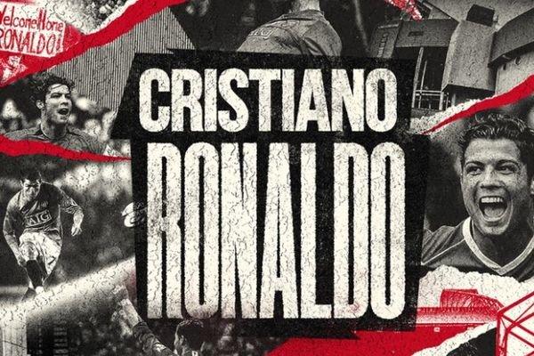 "Hivatalos – a Manchester United bejelentette: Cristiano Ronaldo ""hazatér"""