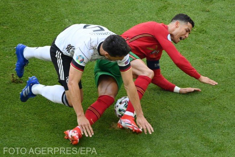 EURO-2020 - Hatgólos találkozón gyűrték le a németek az örökgólkirállyá vált Ronaldo portugáljait