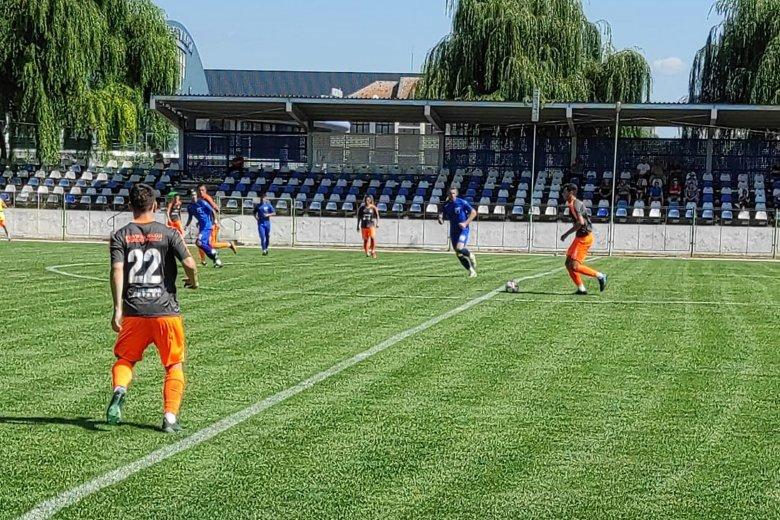 A KSE-vel játszott felkészülési meccset az SZFC