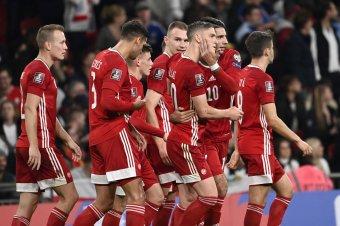 Késő, de így is szép: a 6-3 óta először nem kapott ki Angliában a magyar fociválogatott