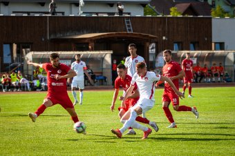 Legyőzte a Hermannstadtot, élre állt az SZFC