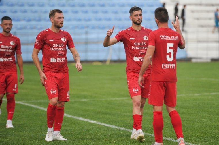 Az SZFC visszavágott a Sepsi OSK fiókcsapatának