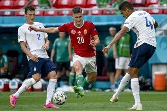 Magyar labdarúgók piaci értéke is növekedett az Eb után
