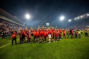 FCSB-veréssel ünnepelte a bajnoki címét a Kolozsvári CFR