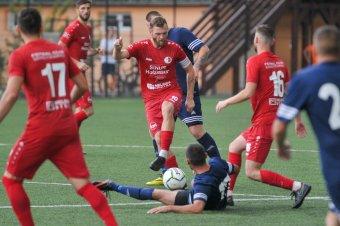Viitorul Curița–SZFC, Nyárádtő–Szászrégen a kupában