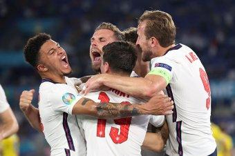 Fejjel nyerte az Eb egyik legegyoldalúbb meccsét az angol válogatott