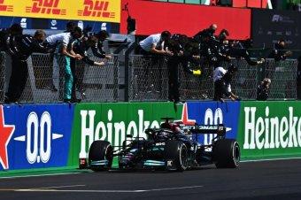 Hamilton nyert Portimaóban