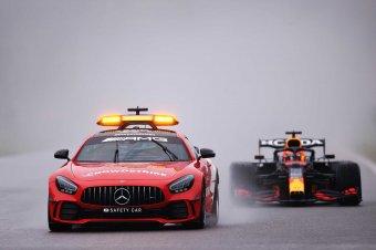 Közbeszólt az időjárás: Verstappen nyerte az el sem indított belgiumi futamot