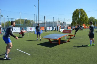 Uralják az országos teqball-bajnokságot az udvarhelyi góbék