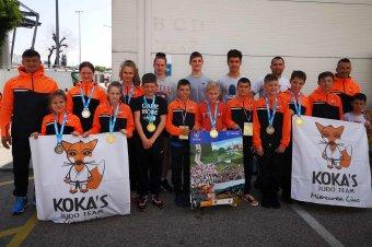 Nemzetközi versenyen bizonyítottak a csíki cselgáncsozók