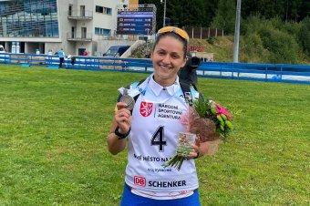 Márton Enikő ezüstérmes az ifjúsági biatlonvébén
