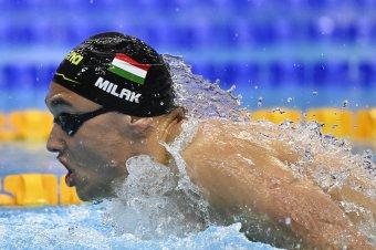 Vizes Eb: Milák nagyszerű idővel aranyérmes, Kenderesi harmadik 200 méter pillangón