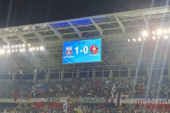 Magyarellenes hangulatban szenvedett vereséget Bukarestben az FK Csíkszereda